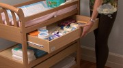 How to organize the changing table.