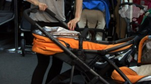 The UppaBaby Vista 2012 stroller.