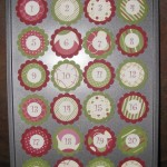 Advent calendar muffin tip tops!